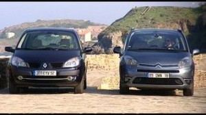 citroen c4 picasso vs renault scenic. Black Bedroom Furniture Sets. Home Design Ideas